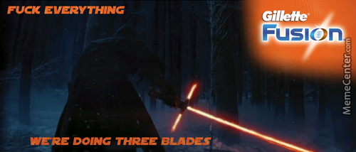 That's How Real Sith Shave.