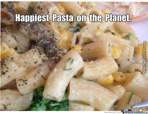 That's One Happy Pasta