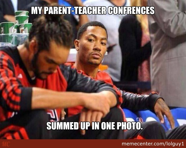 That Face Your Mom Makes At A Parent-Teacher Conference.