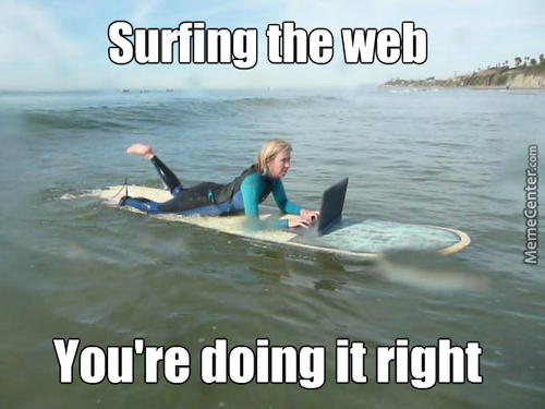 That Is How You Surf The Web