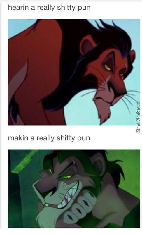 That Pun Gave Me A... Scar