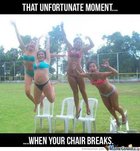 That Unfortunate Moment......
