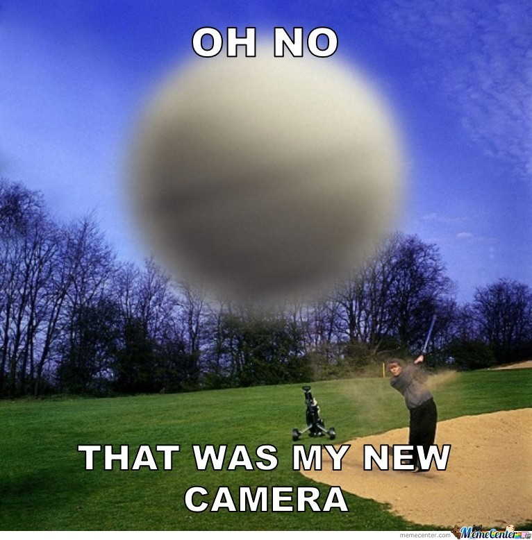 That Was My New Camera
