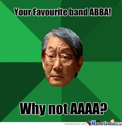 That Would Be A Silly Name For A Band Dad!