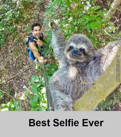 Thats How Selfies Should Made, Not Like Most Chicks Using Dog Filters