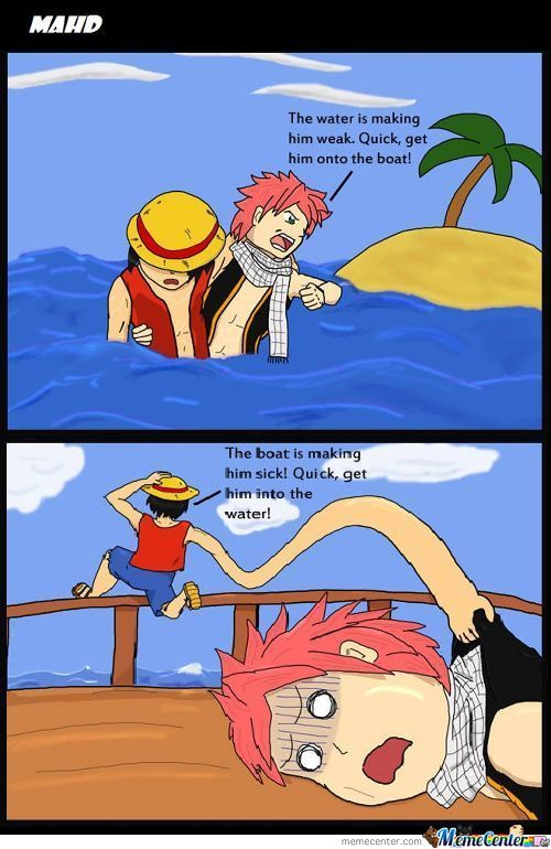 Thats Why There Will Never Be A One Piece & Fairy Tail Crossover