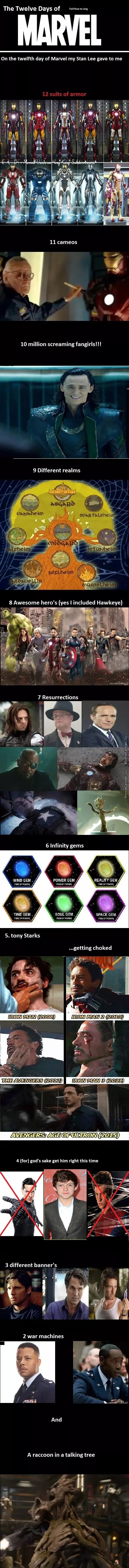 The 12 Days Of Marvel, Re-Uploaded With Number Four....sort Of