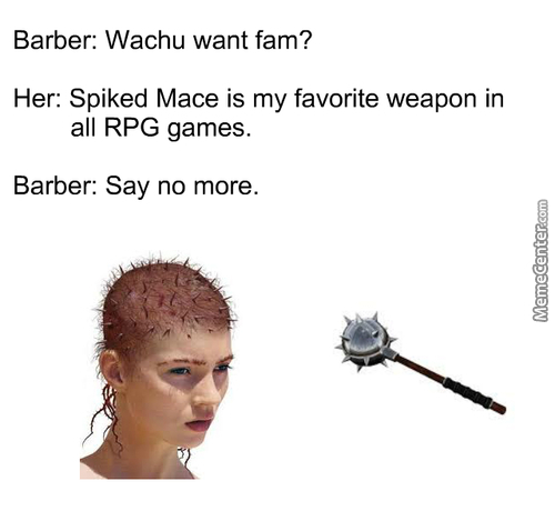The A-Macing Mace!