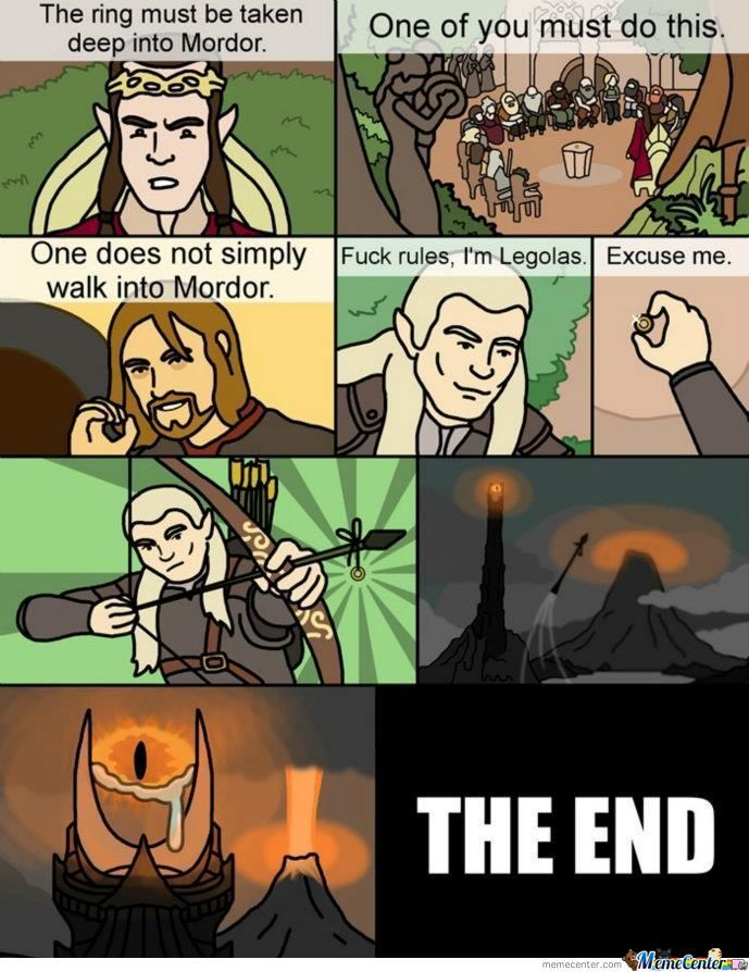 The Alternative Ending Of Lord Of The Rings