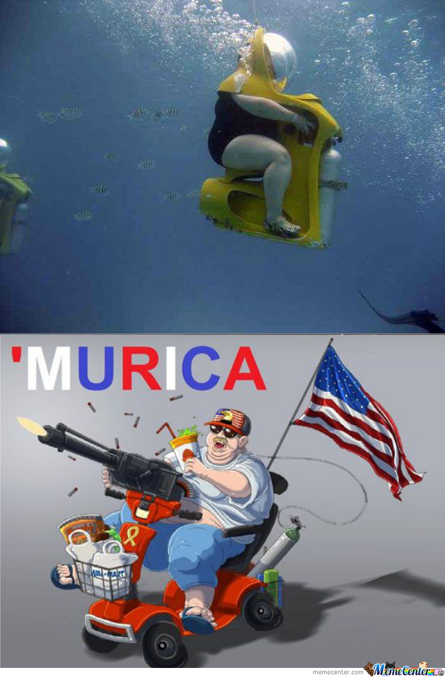 The American Way To Dive!