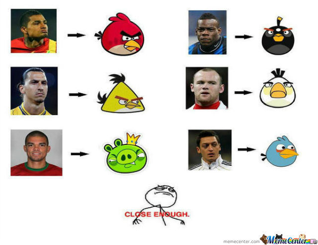 The Angry Soccer Birds