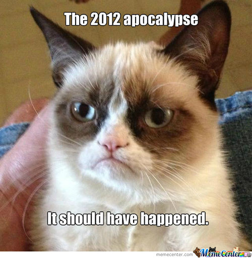 The Apocalypse Should Have Happened.