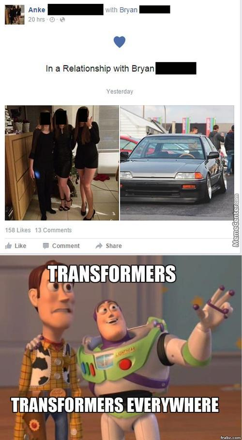 The Autobots Are On Facebook Now.