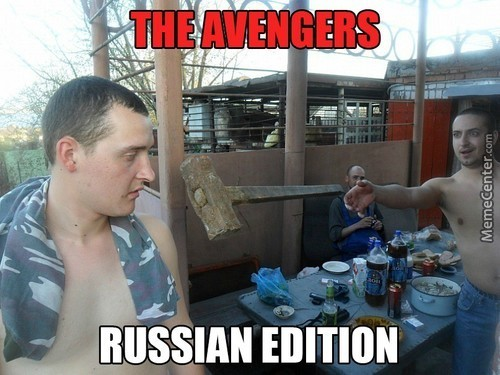 The Avengers In Moscow