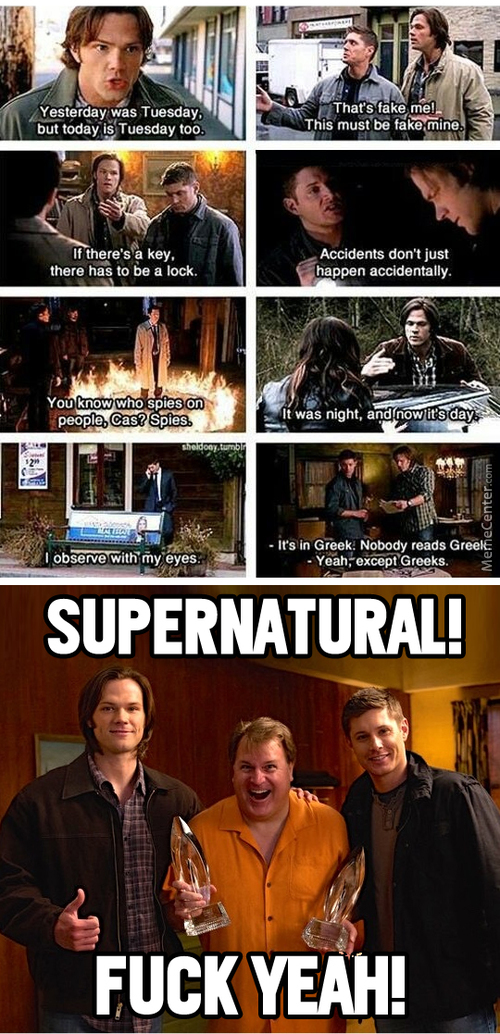 The Award Winning Series Supernatural