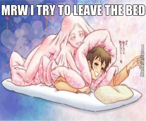 The Bed Is The True Waifu