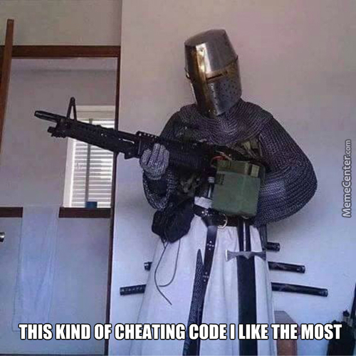 The Best Cheating Code