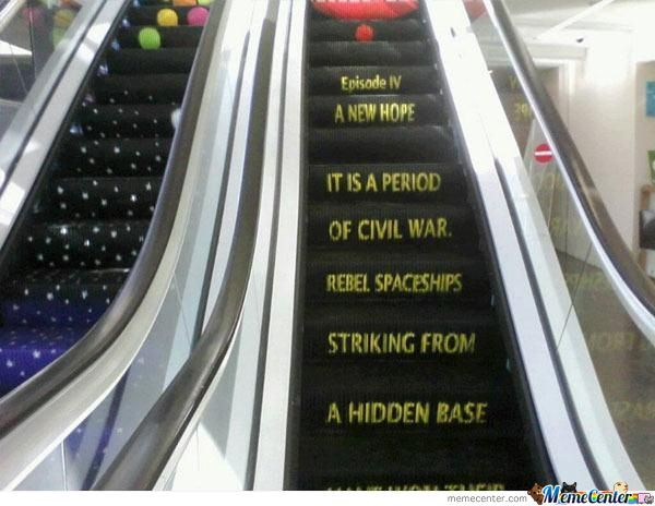 The Best Escalator Ever!