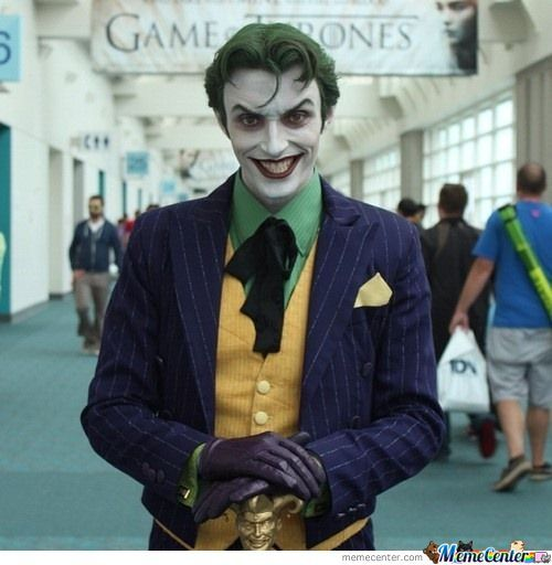 The Best Joker Cosplay I'Ve Ever Seen.