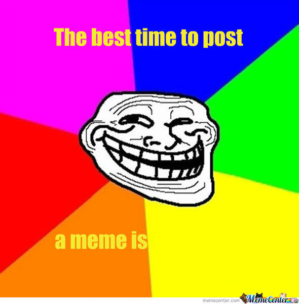 The Best Time To Post