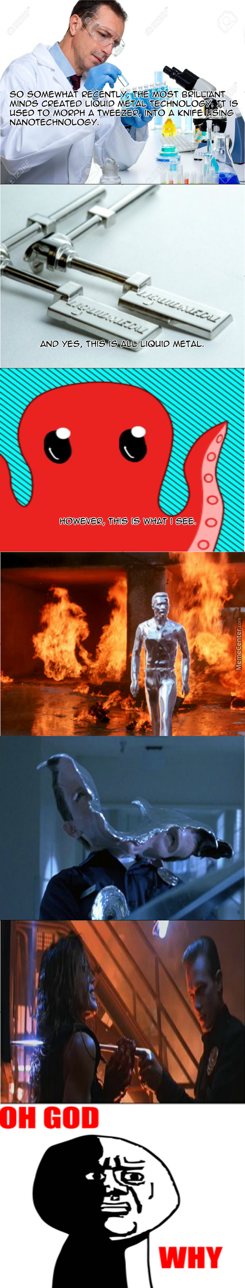The Birth Of The T-1000