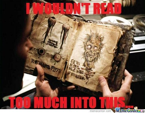 The Book Of The (Evil) Dead