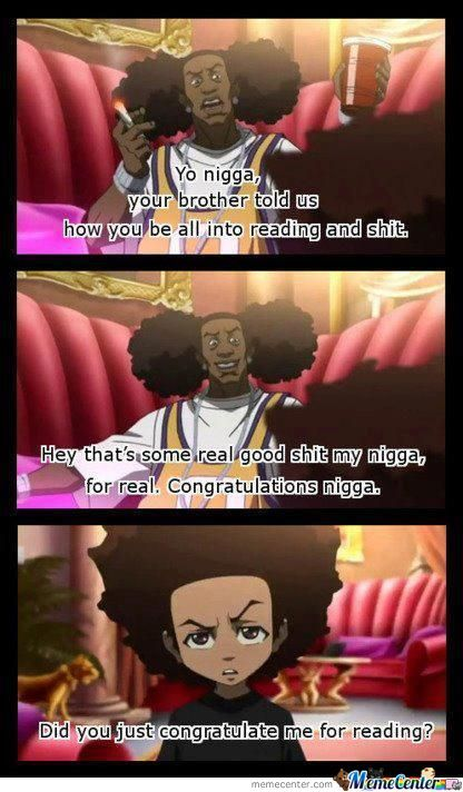 The Boondocks And Reading