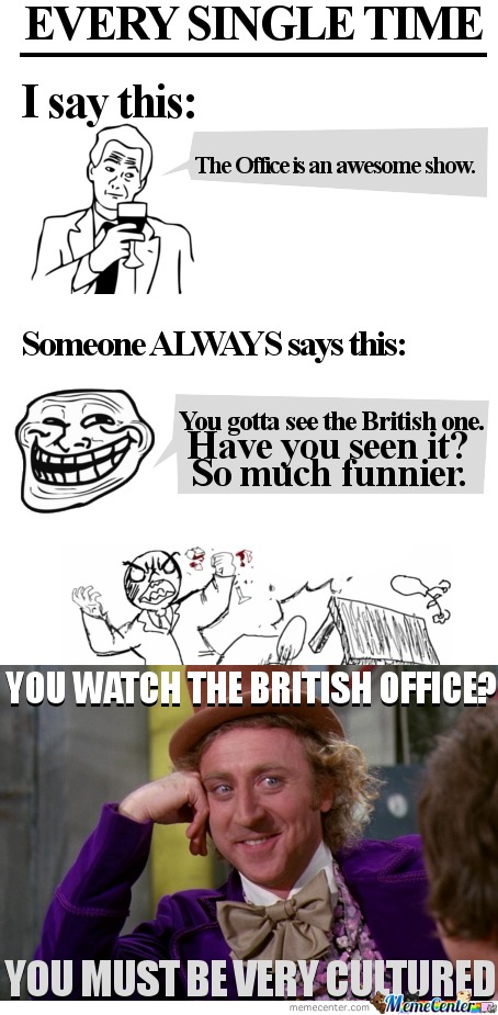 The British Office Still Sucks