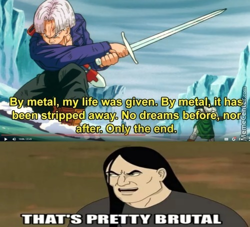 The Brütal Meaning Of Life