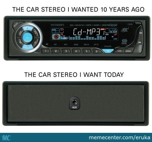 The Car Stereo I Wanted 10 Years Ago & The Car Stereo I Wanted Today