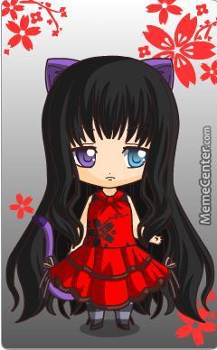 The Chibi I Made Im Gonna Call Her Kyata