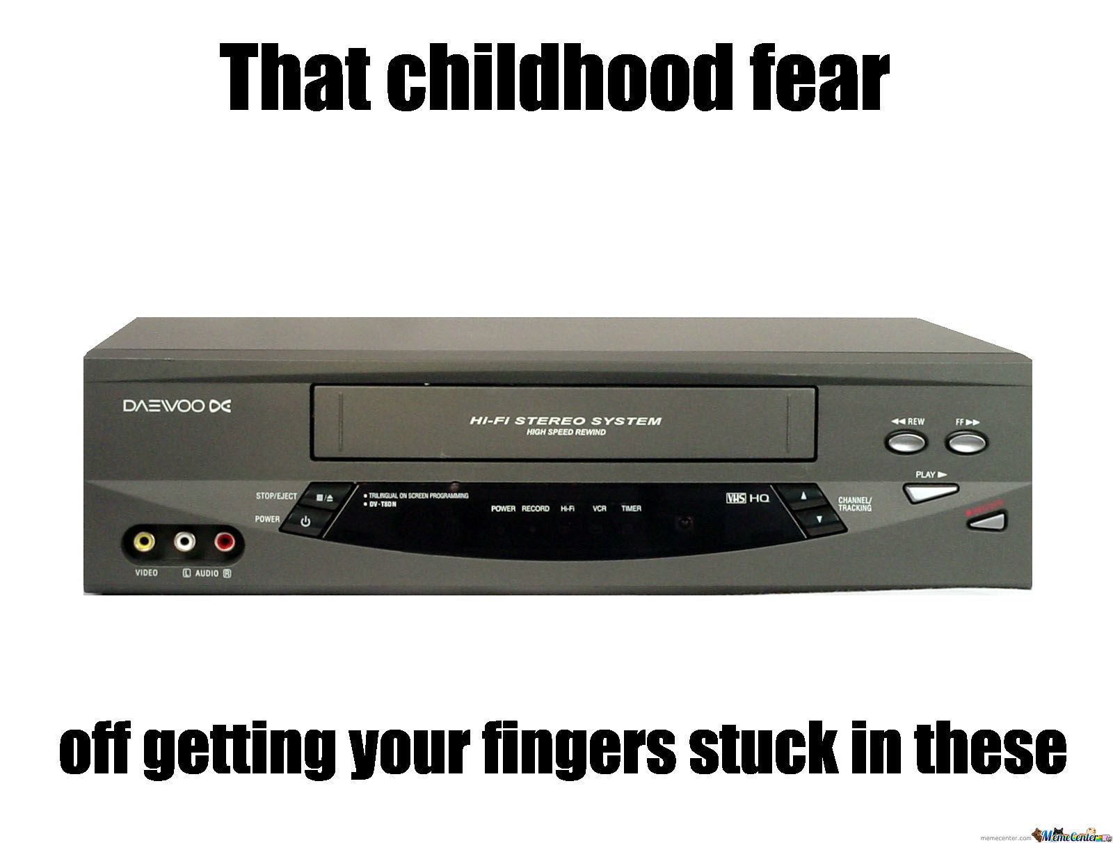 The Childhood Fear