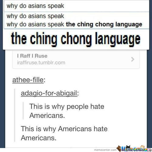 The Ching Chong Language