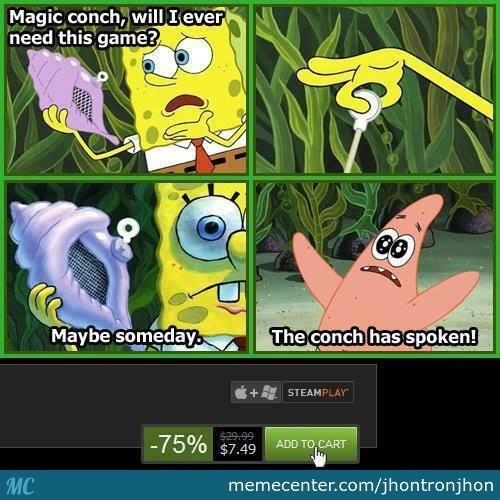 The Conch Has Spoken!
