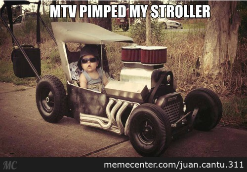 The Coolest Stroller Ever