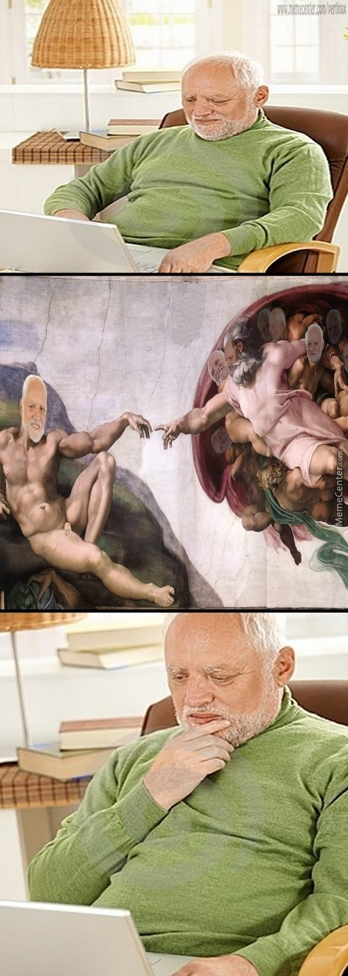 The Creation Of Harold