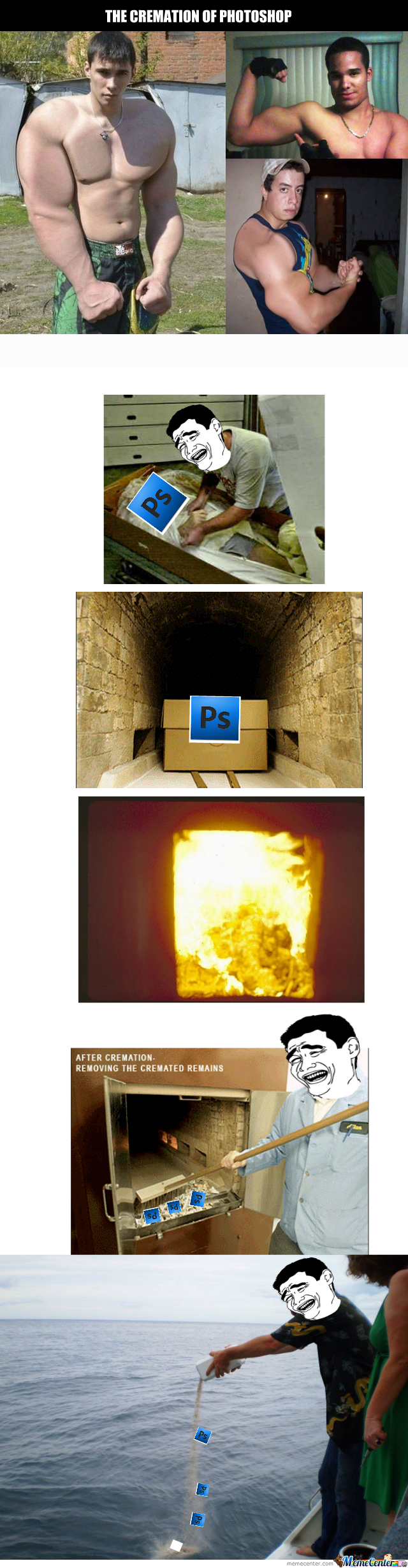 The Cremation Of Photoshop
