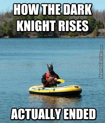 The Dark Knight Floats
