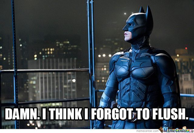 The Dark Knight Forgets.