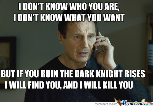 The Dark Knight Taken?