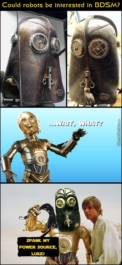 The Dark Side Of C-3Po