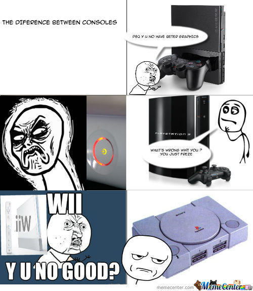The Diference Between Consoles