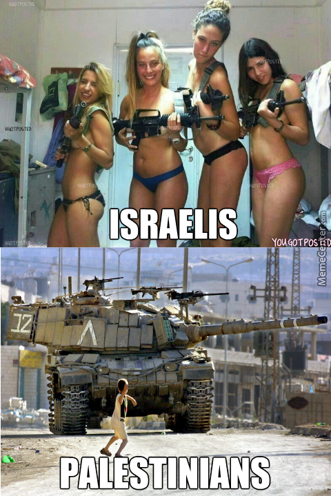 The Difference Between Israelis And Palestinians