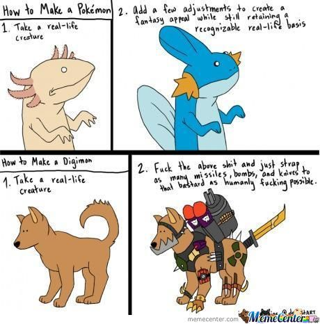The Difference Between Pokemon And Digimon