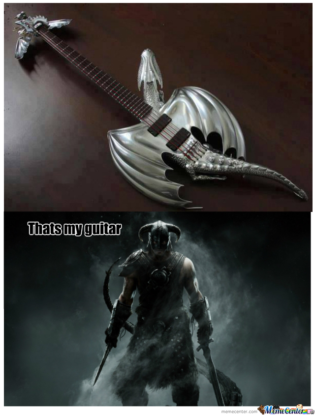 The Dragonborn Guitar