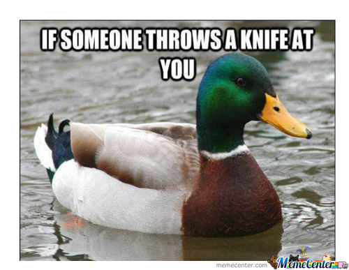 The Duck Is Right, You Know