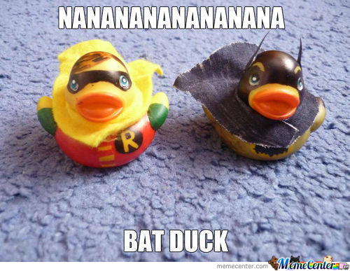 The Duck Knight / The Quacked Crusader