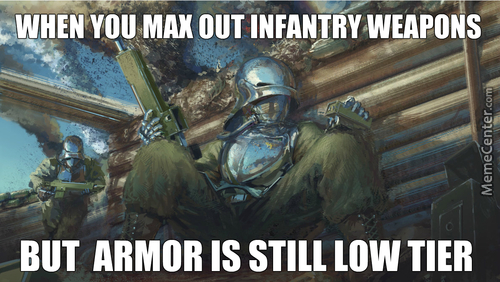 The Emperor Protects, But Your Armor Won't