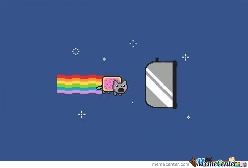 The End Of Nyan Cat's Adventure