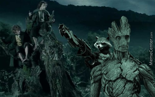 The Ents Are Going To Galactic War
